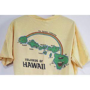 Vintage Shirts - Vintage Hawaiian Islands T Shirt